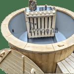 1600 Verzonken Terras Klassieke Hottub Met Interne Houtkachel (1)