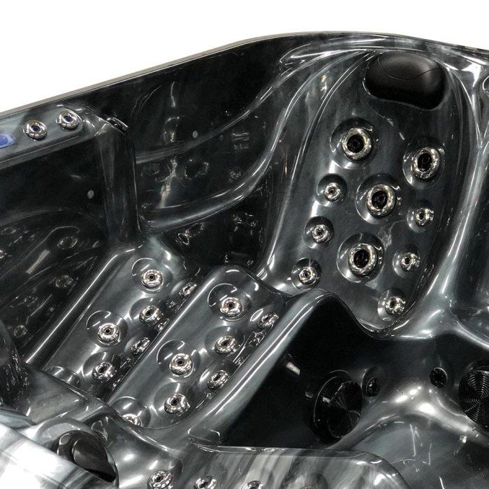 Black Stream - 5 person Hot Tub Details Images-1
