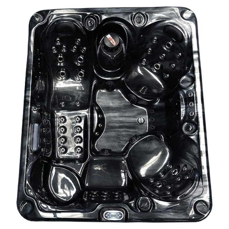 Chaser 2 - 5 person Hot tub - Top View