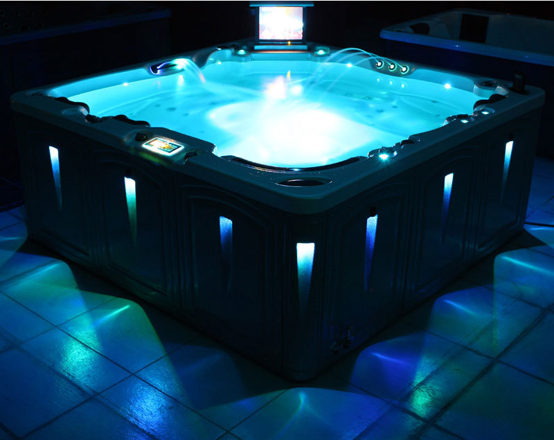 Hot Tub Lighting For Portable Hot Tub And Spa Hot Tubs Depot