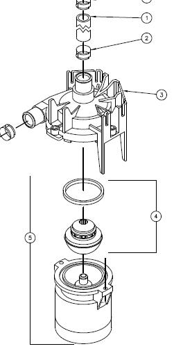 Circulation Pump | Single Speed 74427 E5 From Hot Tub Spa