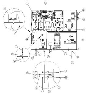 71974 Main Circuit Board 1998 Hot Spot