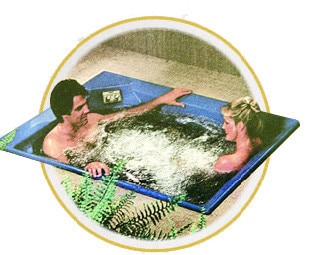 Jacuzzi in the 80's