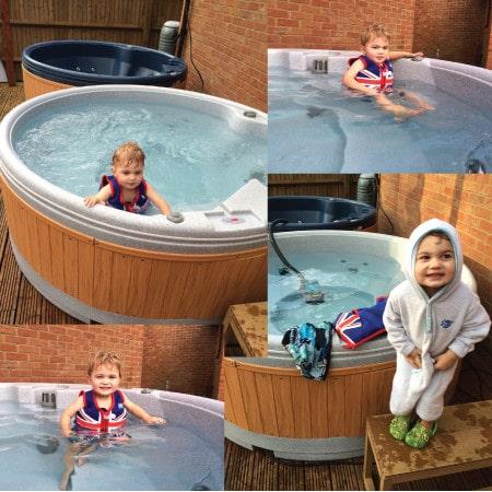 hot tub hire fun