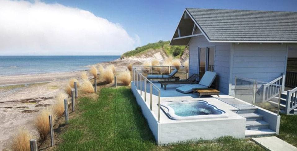 Jacuzzi Lodge hot tub for holiday homes