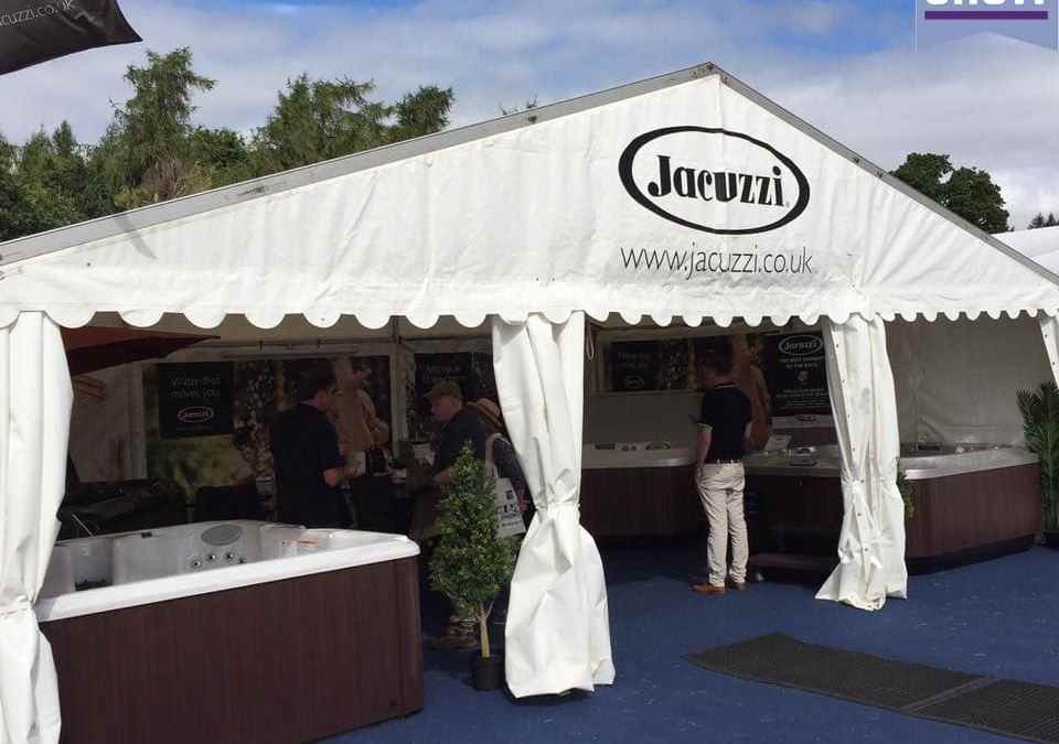 Jacuzzi® Hot Tubs at Royal Berkshire Show 2016