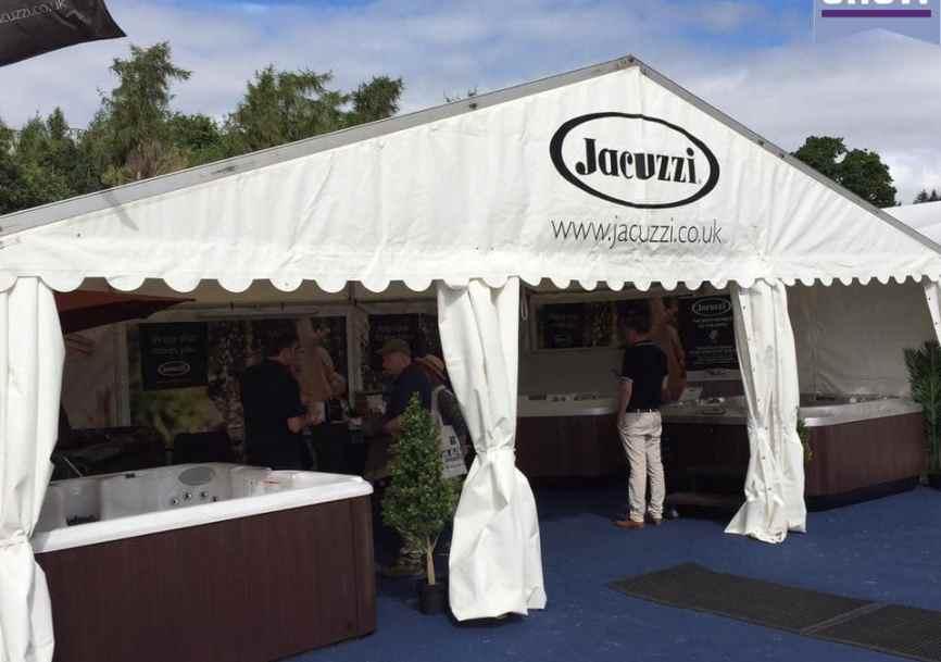 Jacuzzi® Hot Tubs at Royal Berkshire Show 2016 | Hot Tub Studio