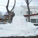 大きな雪だるま