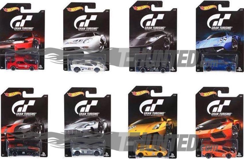 Un seconde série d'Hot Wheels pour Gran Turismo