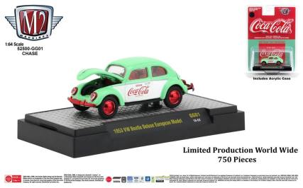 M2-Machines-Coca-Cola-Series-1953-VW-Beetle-Deluxe-European-Model-Chase-Car