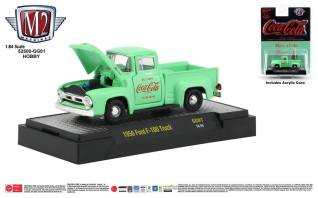 M2-Machines-Coca-Cola-Series-1956-Ford-F-100-Truck-Hobby