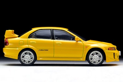 Tomica-Limited-Vintage-Neo-Mitsubishi-Lancer-GSR-Evolution-V-Yellow-5