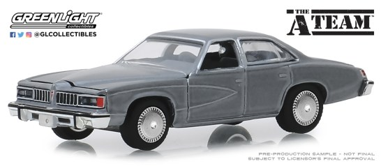 GreenLight-Collectibles-Hollywood-25-1977-Pontiac-LeMans-The-A-Team
