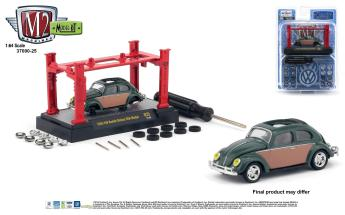 M2-Machines-Model-Kit-25-1956-VW-Beetle-Deluxe-USA-Model