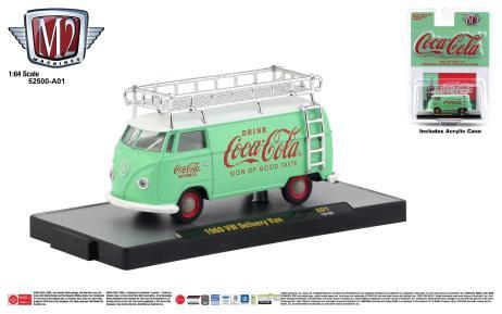 M2-Machines-Coca-Cola-Series-1960-VW-Delivery-Van