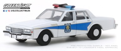 GreenLight-Collectibles-Hot-Pursuit-33-1986-Chevrolet-Caprice-Indiana-State-Police