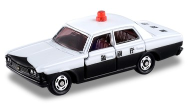 Collection-Tomica-50eme-anniversaire-Toyota-Crown-Patrouille-Police