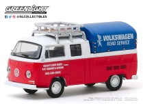 GreenLight-Collectibles-Club-V-Dub-Series-10-1976-VW-T2-Type-2-Double-Cab-Pick-Up