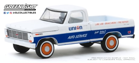 GreenLight-Collectibles-Running-on-Empty-10-1968-Ford-F-100-Union-76