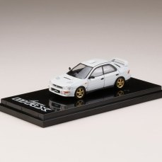Hobby-Japan-Minicar-Project-Subaru-Impreza-GC8C-Series-Subaru-Impreza-WRX-GC8-Type-RA-STi-Version-II-Fether-White-001