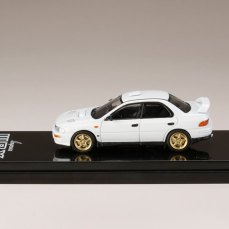 Hobby-Japan-Minicar-Project-Subaru-Impreza-GC8C-Series-Subaru-Impreza-WRX-GC8-Type-RA-STi-Version-II-Fether-White-003