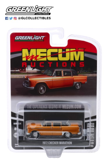 GreenLight-Collectibles-Mecum-Auctions-Series-4-1972-Checker-Marathon