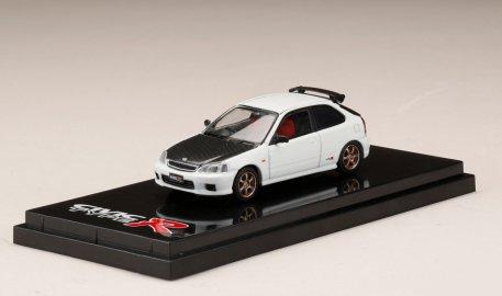 Hobby-Japan-Honda-Civic-Type-R-EK9-Custom-Version-Carbon-Bonnet-Championship-White-001