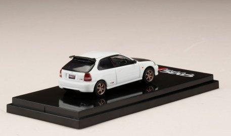 Hobby-Japan-Honda-Civic-Type-R-EK9-Custom-Version-Carbon-Bonnet-Championship-White-002