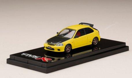 Hobby-Japan-Honda-Civic-Type-R-EK9-Custom-Version-Carbon-Bonnet-Sunlight-Yellow-001