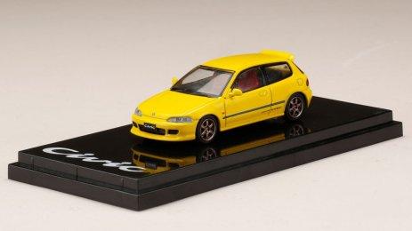 Honda-Civic-EG6-Custom-Version-Yellow-001