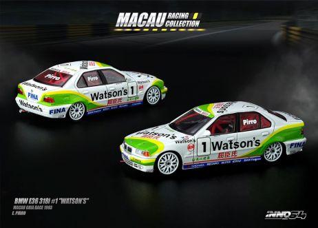 Inno-64-Macau-Grand-Prix-2019-Special-BMW-E36-318i-1-Watson-s-Macau-Guia-Race-1993-E-Pirro