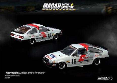 Inno-64-Macau-Grand-Prix-2019-Special-Toyota-Corolla-Levin-AE86-19-Tom-s-Macau-Guia-Race-1983-N-Tachi