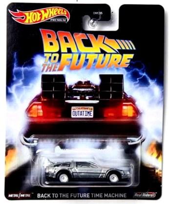 Hot-Wheels-2020-Replica-Entertainment-Back-to-the-Future-Time-Machine