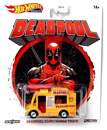 Hot-Wheels-2020-Replica-Entertainment-Deadpool-Chimichanga-Truck