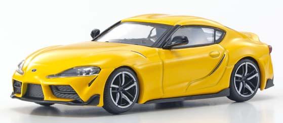 Kyosho-2020-Toyota-GR-Supra-jaune-1