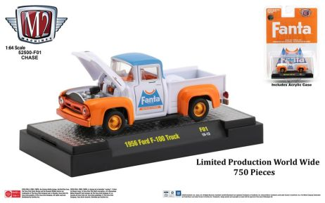 M2-Machines-Fanta-Series-1956-Ford-F-100-Truck-Chase