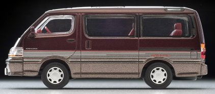 Tomica-Limited-Vintage-Neo-Toyota-Hiace-Super-Custom-rouge-fonce-marron-007