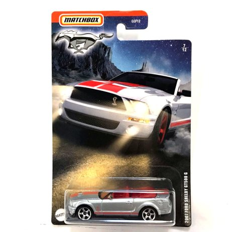 Matchbox-Ford-Mustang-collection-2-2007-Ford-Shelby-GT500-G