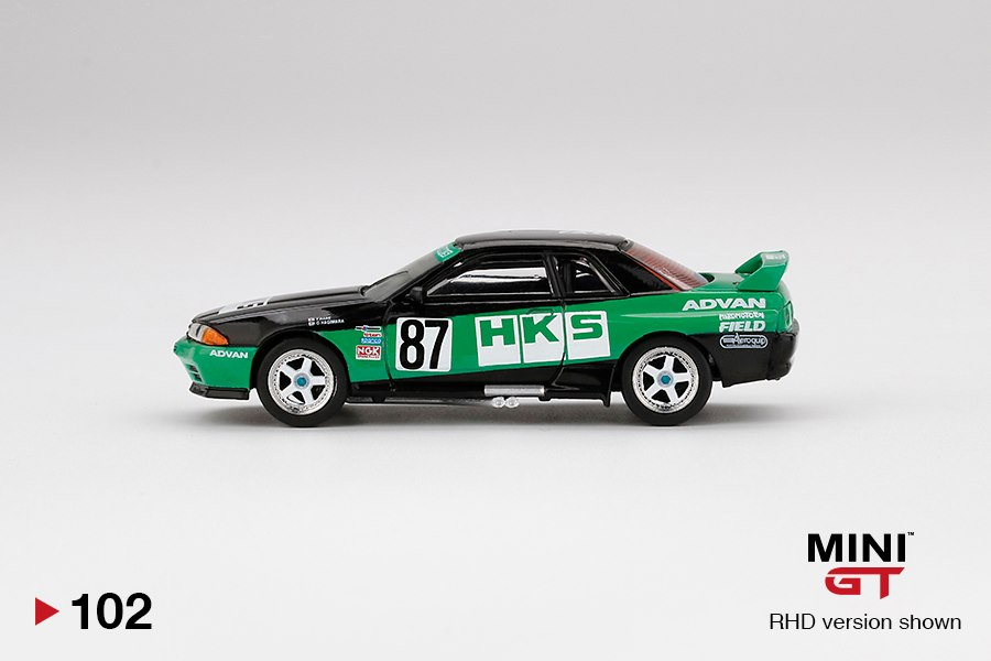 Mini-GT-Nissan-GT-R-R32-Gr-A-87-HKS-1992-Group-A-001