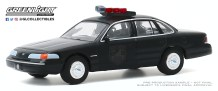 GreenLight-Collectibles-Black-Bandit-23-1992-Ford-Crown-Vic