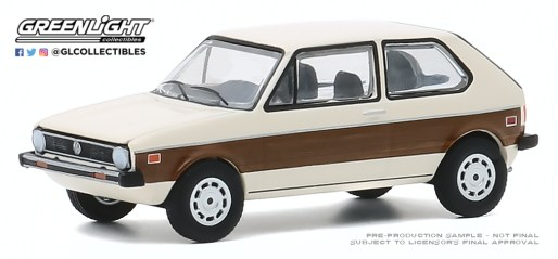 GreenLight-Collectibles-Club-V-Dub-11-1977-VW-Rabbit-Woody-Graphics