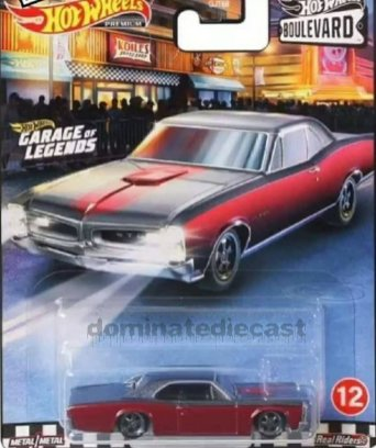 Hot-Wheels-Premium-Boulevard-Series-Mix-3-67-Pontiac-GTO