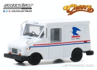 GreenLight-Collectibles-Hollywood-29-Cliff-Calvin-US-Mail-Long-Life-Postal-Delivery-Vehicle-Cheers