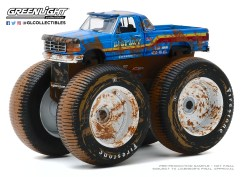 GreenLight-Collectibles-Kings-of-Crunch-Series-7-Bigfoot-7-1996-Ford-F-250-Monster-Truck-Dirty-Version