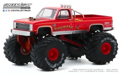 GreenLight-Collectibles-Kings-of-Crunch-Series-7-Terminator-III-1993-Ford-F-250-Monster-Truck