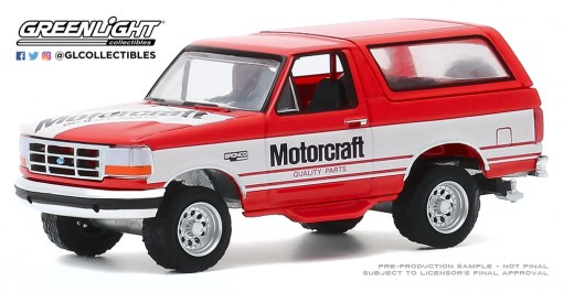 GreenLight-Collectibles-Running-on-Empty-11-1994-Ford-Bronco-Motorcraft