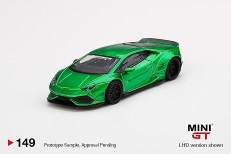 Mini-GT-LB-WORKS-Lamborghini-Huracán-Version-2-Green-001