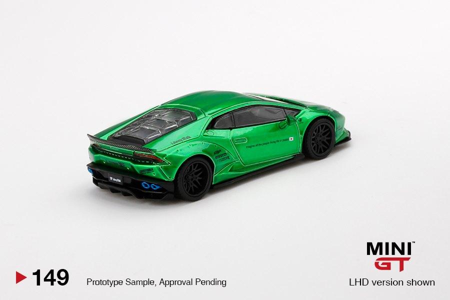 Mini-GT-LB-WORKS-Lamborghini-Huracán-Version-2-Green-002