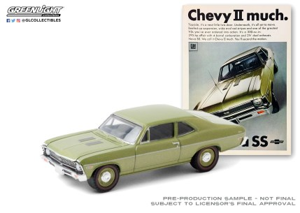 GreenLight-Collectibles-Vintage-Ad-Cars-3-1968-Chevy-Nova-SS