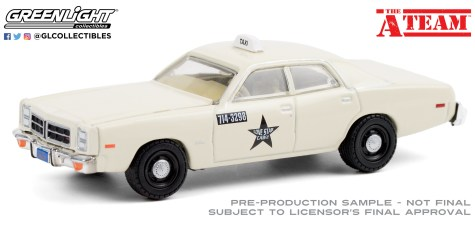 GreenLight-Collectibles-Hollywood-27-The-A-Team-1978-Dodge-Monaco-Taxi